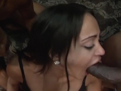 Exotic pornstar Kimberly Kendall in hottest interracial, black and ebony sex clip
