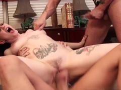 Fabulous pornstars Rizzo Ford, Joanna Angel in Hottest Big Tits, Emo xxx scene