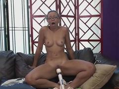 Best pornstar Adrian Maya in Hottest Dildos/Toys, Big Ass sex movie