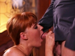 Exotic pornstars Marie McCray, Steven St. Croix in Best Blowjob, Redhead sex movie