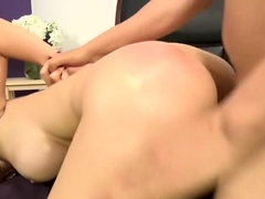 Horny pornstar Scarlet De Sade in best big tits, hardcore porn scene