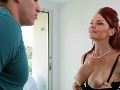 Gorgeous redheads Janet and Alex get hot and sexy in bed