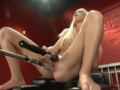 Exotic fetish adult clip with amazing pornstar Halle Von from Fuckingmachines