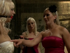 Crazy fetish, lesbian porn clip with horny pornstars Maitresse Madeline Marlowe, Lorelei Lee and C.