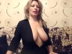 Older Breasty Mother I'd Like To Fuck teases on Web webcam