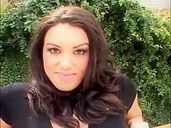 Sexy Brunette Latina Takes A Hard Pounding