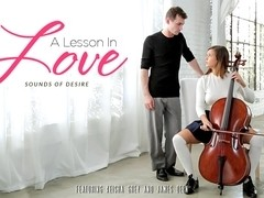 Keisha Grey & James Deen in A Lesson In Love Video