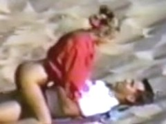 young couple having sex at the beach part 2