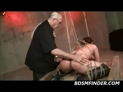 Shibari Rope Slavery And Whipping