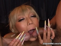 Rina Aina in Double Teaming A Slippery Babe - JapanHd