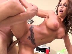 Britney Amber & Porno Dan & David Loso in Britney Amber Goes Cock Wild! Video