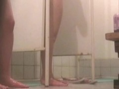 Hidden webcam shower clips 11