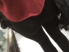 Hot Teen Ass in Leggings