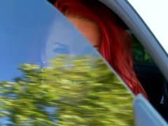 Best pornstar Paige Delight in crazy striptease, redhead sex clip