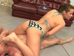 Horny pornstar Beverly Hills in best masturbation, fetish sex scene