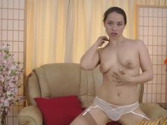 Fabulous pornstar Patrizia Berger in Crazy Redhead, Stockings xxx video