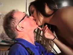 Best pornstar in incredible cunnilingus, cumshots sex clip