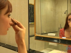 Hottest pornstar Violet Monroe in Horny Softcore, Redhead xxx clip