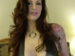 Dirty Talking Milf with Big Tits Masturbating