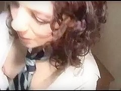 Sexy curly mother I'd like to fuck enjoys a BBC
