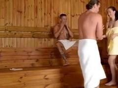 Lucie Wilde Sauna Fuck