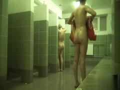 Hidden cameras in public pool showers 681