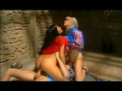 Amazing pornstar Tania in a hot anal threesome