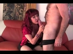 Exotic and pouty Latin beauty fucked by older guy