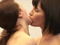 Incredible pornstars in Hottest HD, Lesbian adult clip