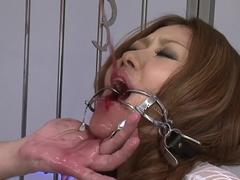 Hottest pornstar in crazy deep throat, dildos/toys porn movie