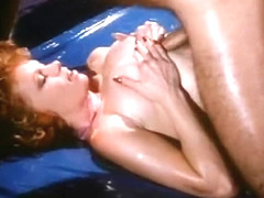 Fabulous facial vintage clip with Heinz Gegler and Angel