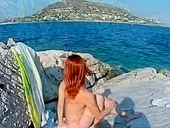 eirina greek wife beach