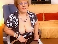 Serious Teacher show her other side in Livecam
