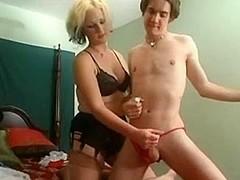 Milf Masturbating Young Boy