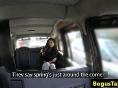 Tattooed taxi slut gets a pov gapeshot