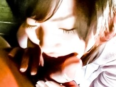 Horny Japanese chick in Best JAV uncensored Cumshots scene