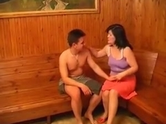 Mature adila fucks with her junior lover