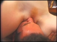 Landing Undress Redhead Tosses Salad And Receives Drilled