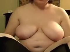 chubby immature with big melons and hairy pussy