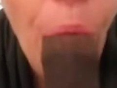 I keep this slut sub sucking the dick