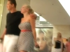 Hot voyeur video of random chicks in/near his local mall