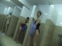 Hidden cameras in public pool showers 1013