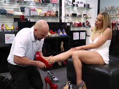 Olivia Austin In Shoe Fetish