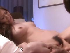 Amazing Japanese slut Yuna Shina in Crazy JAV censored POV, Hairy clip