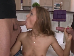 Amazing pornstar in Incredible Blowjob, College sex clip