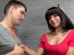 Rose Monroe and Toni Ribas in Latin porn