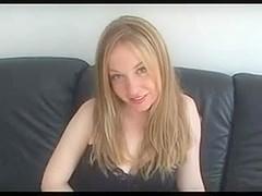 Blonde Creampie