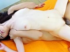Fabulous Japanese whore Ryo Kaede in Incredible JAV uncensored Hairy video