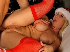 Devon Lee & Marcus London in anal around the xmas tree Video