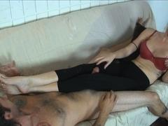 Vanessa Vixon Torments her Boyfriend with CBT Fun for Days - MeanHandJobs